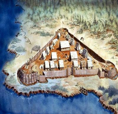 Jamestown Fort - 1607